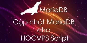Cập nhật MariaDB cho HocVPS Script
