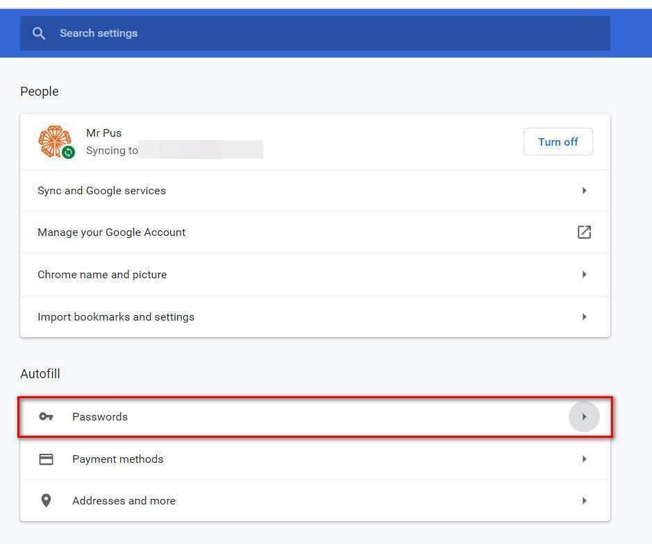 Chọn Mật khẩu - Password
