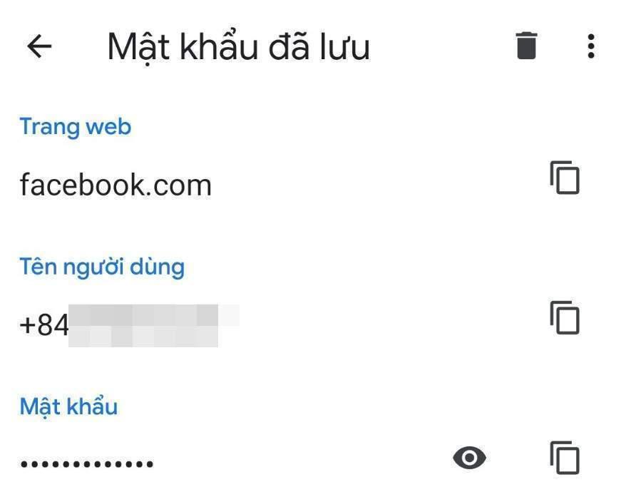 Hack thành công mật khẩu Facebook trên Mobile