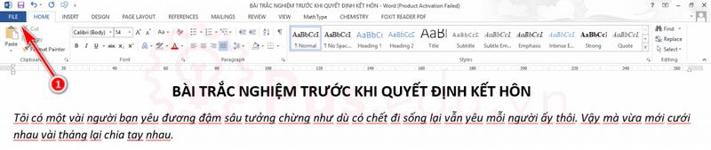 lam mat dau gach do duoi chu trong word 2
