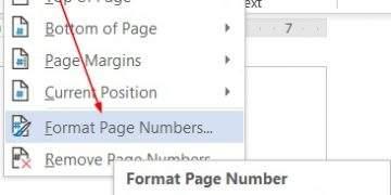 Cách đánh số trang từ trang thứ 2 trong Word