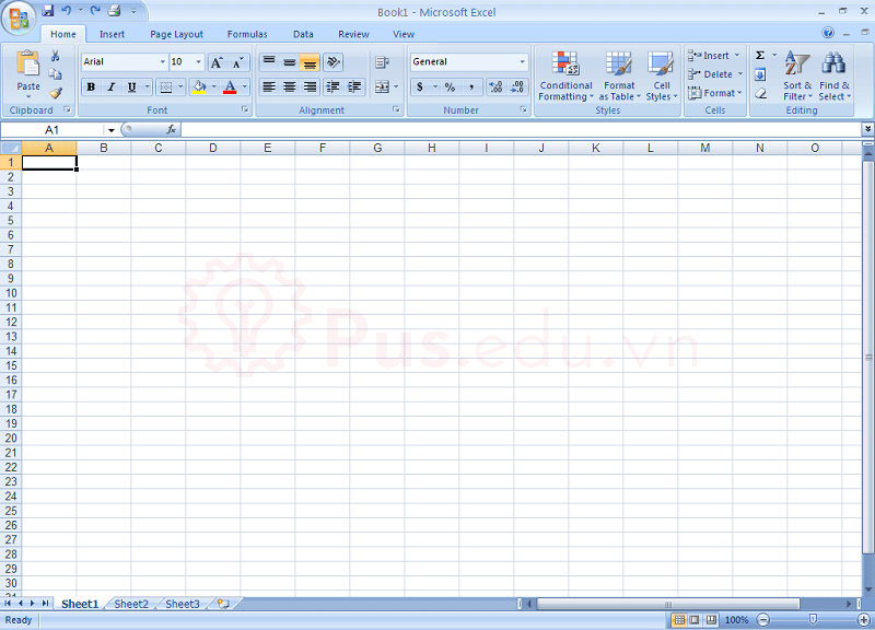 cach co dinh dong va cot trong excel 6