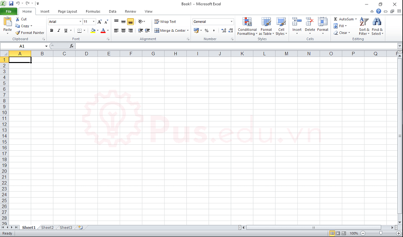 cach co dinh dong va cot trong excel 7
