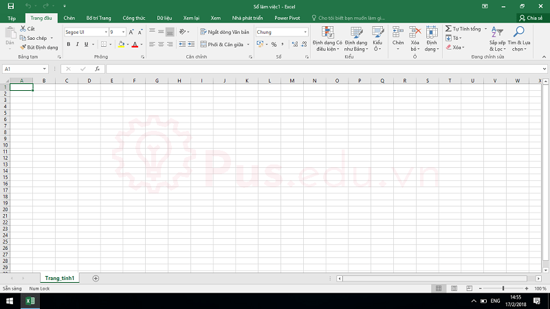 cach co dinh dong va cot trong excel 9