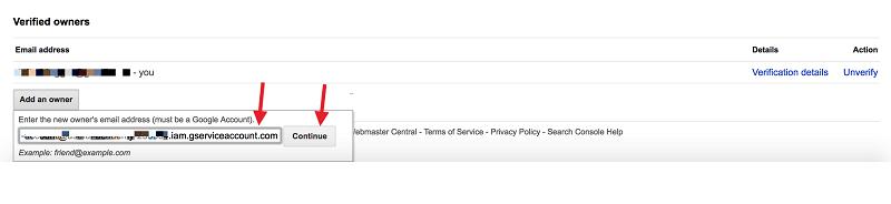 google indexing api 25