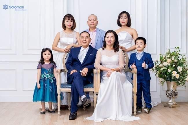 chụp hình đại gia đình