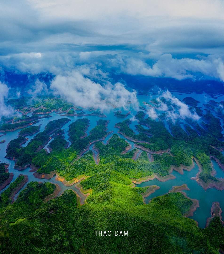 Những bức ảnh đẹp chụp từ máy bay không người lái Flycam