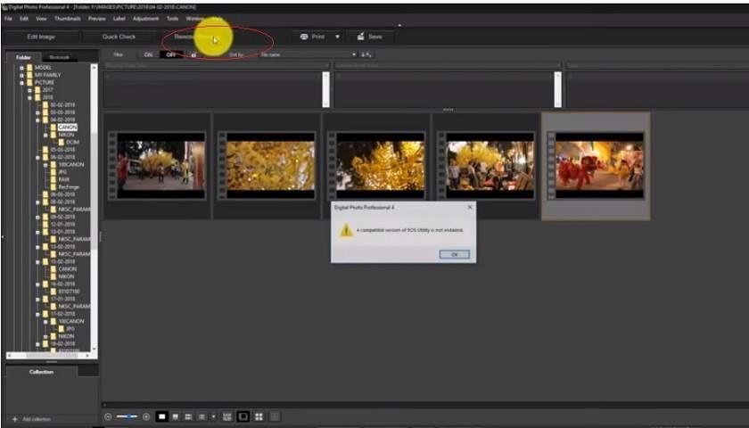 tải phần mềm Canon EOS Utility