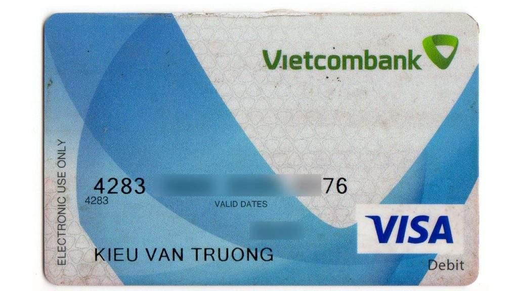 the visa debit vietcombank